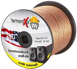Professional Grade 14 Gauge Speaker Cable – Pure Stranded