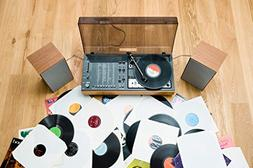 1970s Stereo System Record Player with 45s Photo Art Print P