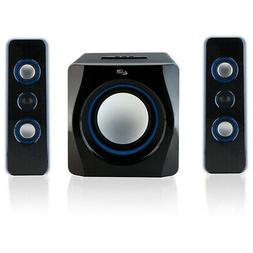 iLive 2.1-Ch Wireless Stereo Speaker System with Subwoofer &