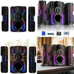 2.1-channel bluetooth multimedia wired speaker stereo shelf