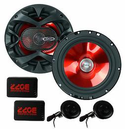 "2) BOSS CH6CK 6.5"" 350W Car 2 Way Component Car Audio Speake"