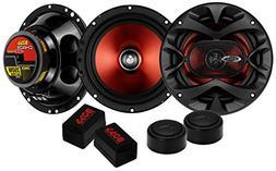 "2) BOSS CH6CK 6.5"" 700W Car 2 Way Component Car Audio Speake"