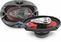 """2) BOSS CHAOS CH6950 6x9"""" 5-Way 600W Car Coaxial Audio Stere"""