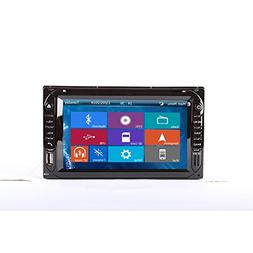 Crusade 2 DIN CAR DVD GPS Car DVD Player for Universal Suppo