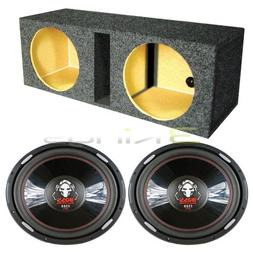 2 BOSS P156DVC 15 Inches 5000W Car Subwoofers Subs, Dual 15