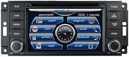 2007-2017 Jeep Wrangler In-Dash GPS Navigation DVD CD Player