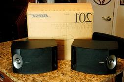 Bose 201 Series V Direct Reflecting Two Speaker System  New