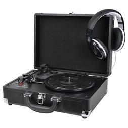 Innovative Technology 3-Speed Bluetooth Turntable vinyl reco