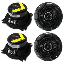 """4) Kicker 41DSC44 D-Series 4"""" 240 Watt 4-Ohm 2-Way Car Audio"""