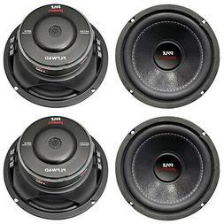 "4) New PYLE PLPW6D 6"" 2400W Car Audio Subwoofers Subs Woofer"