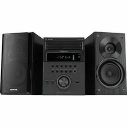 Sharp 5-Disc Shelf Speaker Stereo System with Bluetooth USB
