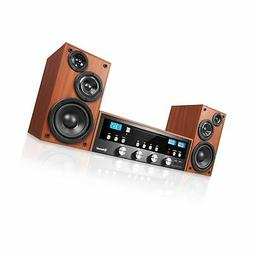 50 watt classic cd bluetooth stereo system