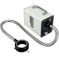 AmScope LED-50WR 50W LED Fiber Optic O-Ring Light Microscope