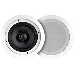 """6"""" Ceiling Speaker Pair - with 30W Stereo Amplifier and Blue"""