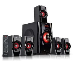 6 PCS 5.1 Channel Bluetooth Home Stereo System Surround Soun