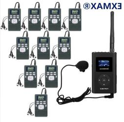 EXMAX 60-108MHz Wireless DSP Stereo Wireless FM Radio Broadc