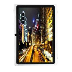 Egmy 7'' Tablet - Android 4.4, Quad Core,1024x600 HD Screen,