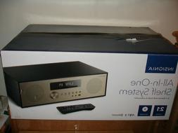 Insignia 80W All-In-One Stereo Shelf Audio System NS-HAIOR18