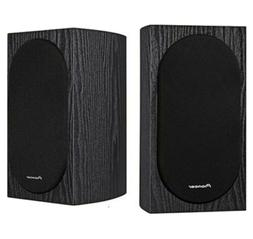 80w Bookshelf Loudspeakers Stereo System Home Theater TV Sur