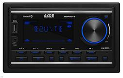 BOSS Audio 810BRGB Multimedia Car Stereo – Double Din, Blu