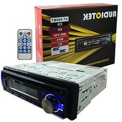 Audiotek AT-980BT AM/FM/MP3 Playable w/ Bluetooth/USB/AUX/SD