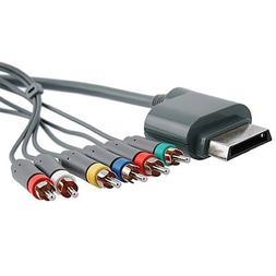 Fosmon Premium Component HDTV  Video & RCA Stereo AV Cable f