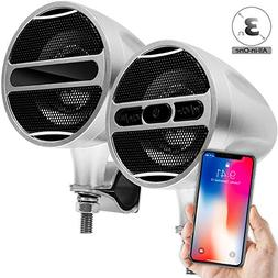 "GoldenHawk All-In-One 3"" Aluminum Waterproof Bluetooth Wirel"