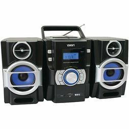 NAXA Electronics Portable MP3/CD Player with PLL FM Radio
