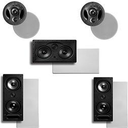 Polk Audio Vanishing LS Series 5.0 in-Wall/in-Ceiling Home T