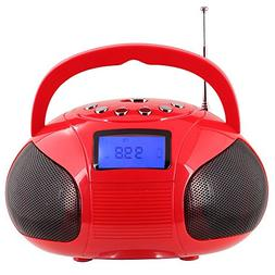 Radio Speaker, Mini Bluetooth MP3 Stereo System Portable wit