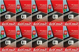 SanDisk Cruzer Fit CZ33 64GB USB 2.0 Low-Profile Flash Drive