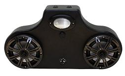 Stereo System for Yamaha Viking with LED Kicker Speakers and