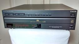 Vintage SONY CDP-C301M Compact Disc CD Changer / Player. 5-D