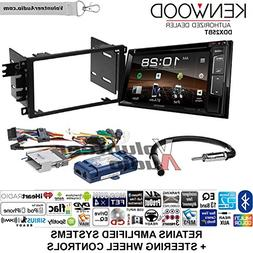 Volunteer Audio Kenwood DDX25BT Double Din Radio Install Kit