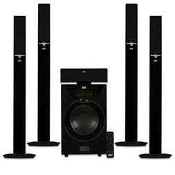 Acoustic Audio AAT2003 Tower 5.1 Home Theater Bluetooth Spea
