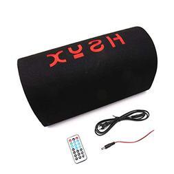 uxcell AC100V-240V DC12V 6 Inch Subwoofer Stereo Audio Bass