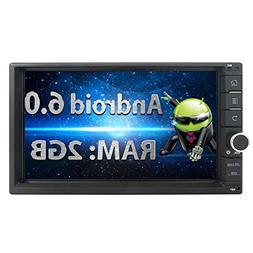 EinCar 2GB Android 6.0 Car Stereo 7'' 1024x600 Tocuh Screen