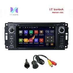 MCWAUTO Android 7.1 Car Stereo GPS DVD Player for Dodge Ram