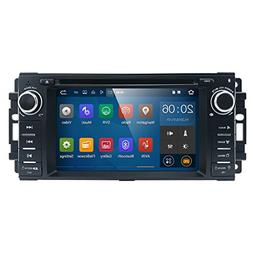 """Android 7 Car Stereo CD DVD Player - Corehan 6.95"""" inch 2GB"""