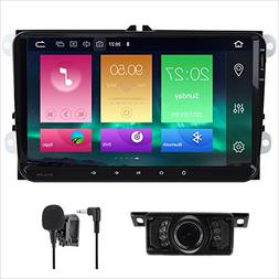 Android 8.0 Car Stereo Double 2 Din 9 Inch Capacitive Touch