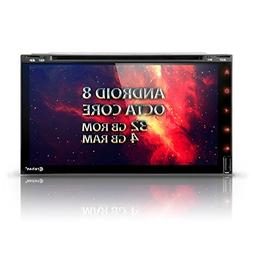 """Android 8 Car Stereo DVD Multimedia Player - Corehan 6.95"""" i"""