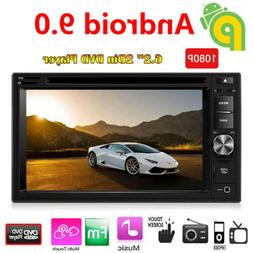 Android 9.0 Touch Screen Stereo Car DVD CD Player 2 Din Syst