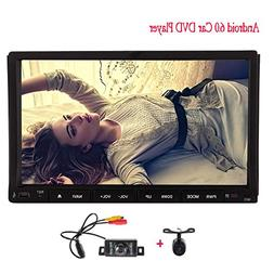 Pure Android 6.0 Quad Core Double 2 din Car DVD Player Auto