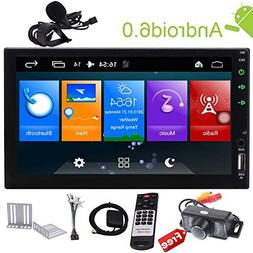 Android Touch Screen Car Stereo 7 inch Double Din in Dash Ca