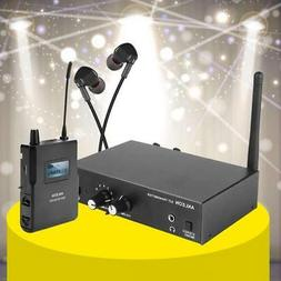 ANLEON S2 UHF Stereo Monitor System Wireless In-ear Stage Tr