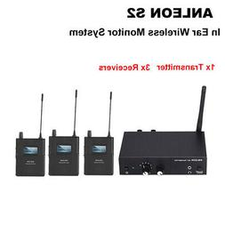 ANLEON S2 UHF Stereo Monitor System Wireless Stage 1 Transmi