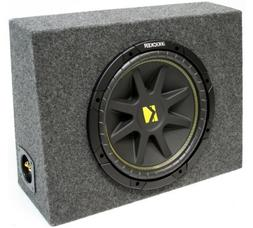 "ASC Package Single 12"" Kicker Sub Box Regular Cab Truck Subw"
