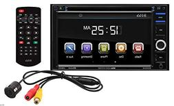Boss Audio BVB9364RC Double-DIN 6.2 inch Touchscreen DVD Pla