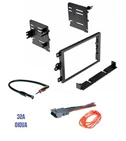 ASC Audio Car Stereo Dash Kit, Wire Harness, and Antenna Ada