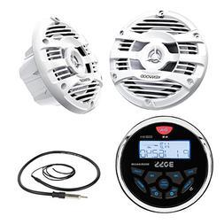New Boss Audio Marine Bluetooth In Dash MP3 USB Receiver Mar